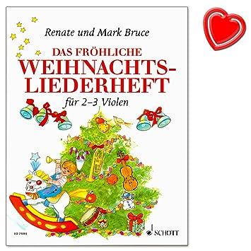 El feliz navidad de canciones) - Los mejores canciones de Navidad de todo el mundo de Renate y Mark Bruce - con Bunter herzförmiger Ordenador Pinza: ...