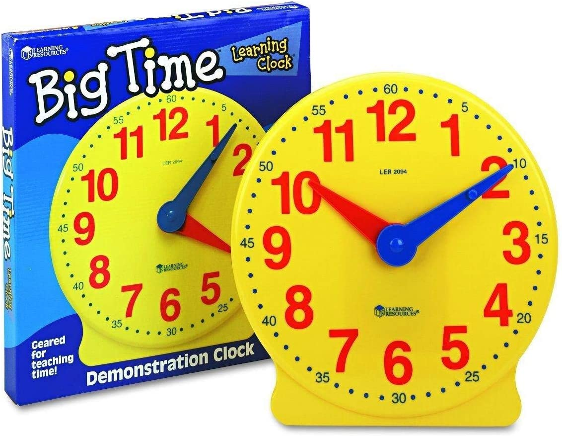 Learning Resources Big Time/™ Student Learning Clock/®