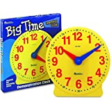 Learning Resources Big Time Learning Clock, 12 Hour