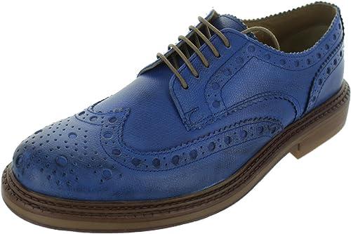 B1026 scarpa inglese BASE LONDON FARADAY vintage shoes men [41] pXkUoWWM