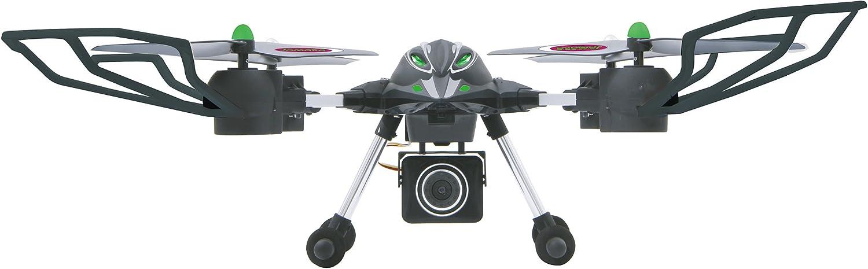 Jamara 422006 - Oberon Altitud AHP HD cámara Quadrocopter, Negro / Verde