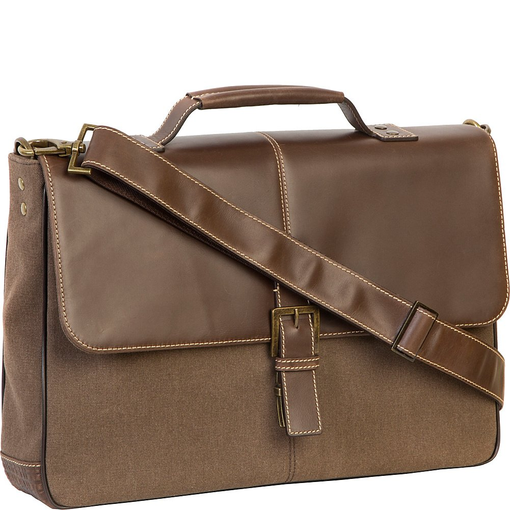 Boconi Bryant LTE brokers Bag  Heather Brown with Houndstooth B01EWHQRXA