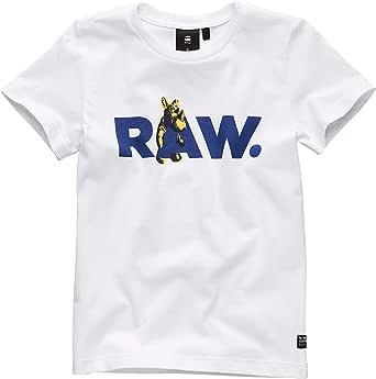 G-STAR RAW Sq10115tee Shirt Camiseta para Niños