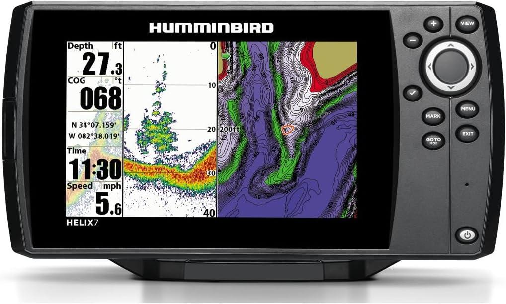 Humminbird Helix 7 Sonar GPS Echolot Mar Tarjeta Combo para ...