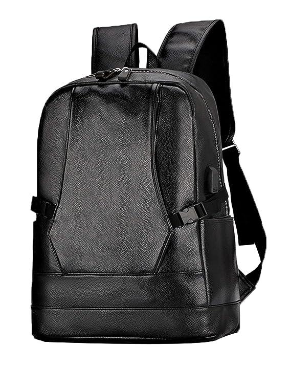 486701a14d Juchen Zaino Vintage Durevole Zainetto Fashion Ragazzi Zaini Scuola  Portatile Uomo Casual Backpack Pelle Unisex Borse Personalizzati:  Amazon.it: Valigeria