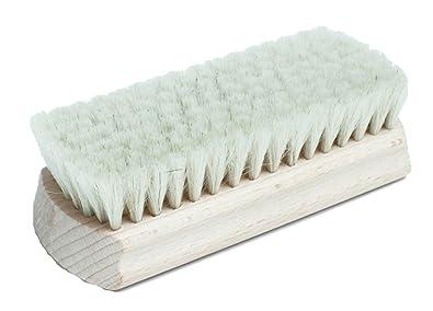 TZ Laces - Cepillo de cerdas naturales para abrillantar zapatos (pelo de cabra) E9sFe0