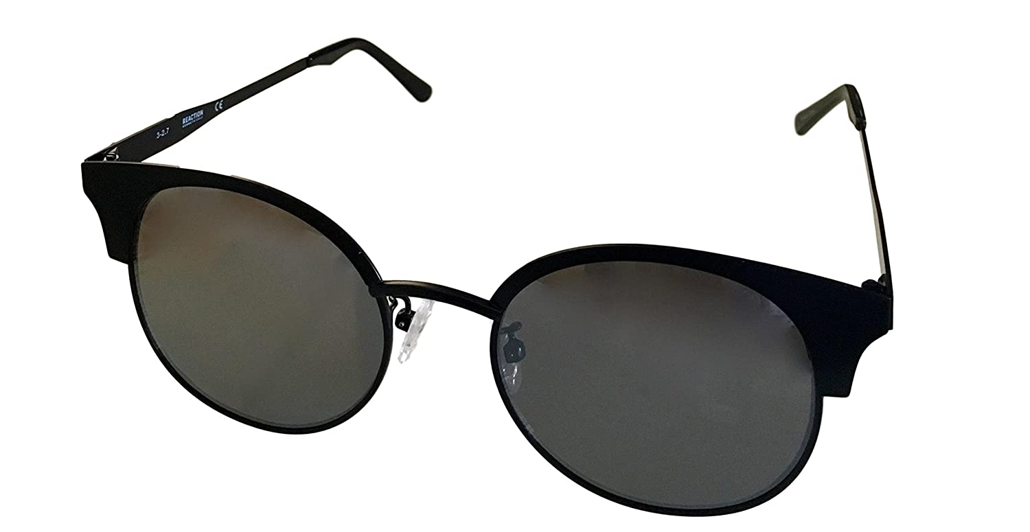 2b212aab87 Amazon.com  Kenneth Cole Reaction Gunmetal Mens Round Metal Gradient Lens