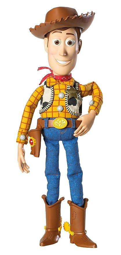 77006c16eb96f Amazon.es  Story Disney Toy Muñeco electrónico Woody (Mattel T0517 ...