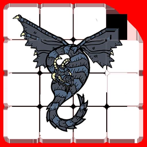 (Dragon Slide Puzzles)