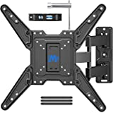 Mounting Dream Full Motion TV Wall Mount for Most 26-55 Inch TVs, Wall Mount for TV with Swivel Articulating Arms, Perfect Ce