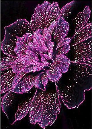 Diamond Painting,DIY Strass en Cristal Broderie Diamant Diamonds Painting Arts Craft pour Le D/écor de Mur /à la Maison Sc/ène de neige maison cerf 30x40cm