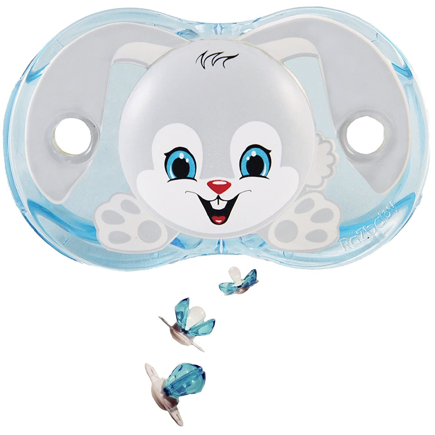 Baby Chupete razbaby® Keep It de Kleen Ziggy Bunny: Amazon.es: Bebé