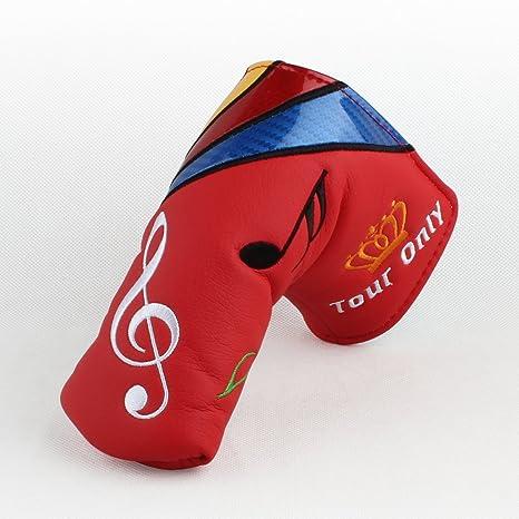 Artesano Golf octava nota musical Quaver para cabeza para ...