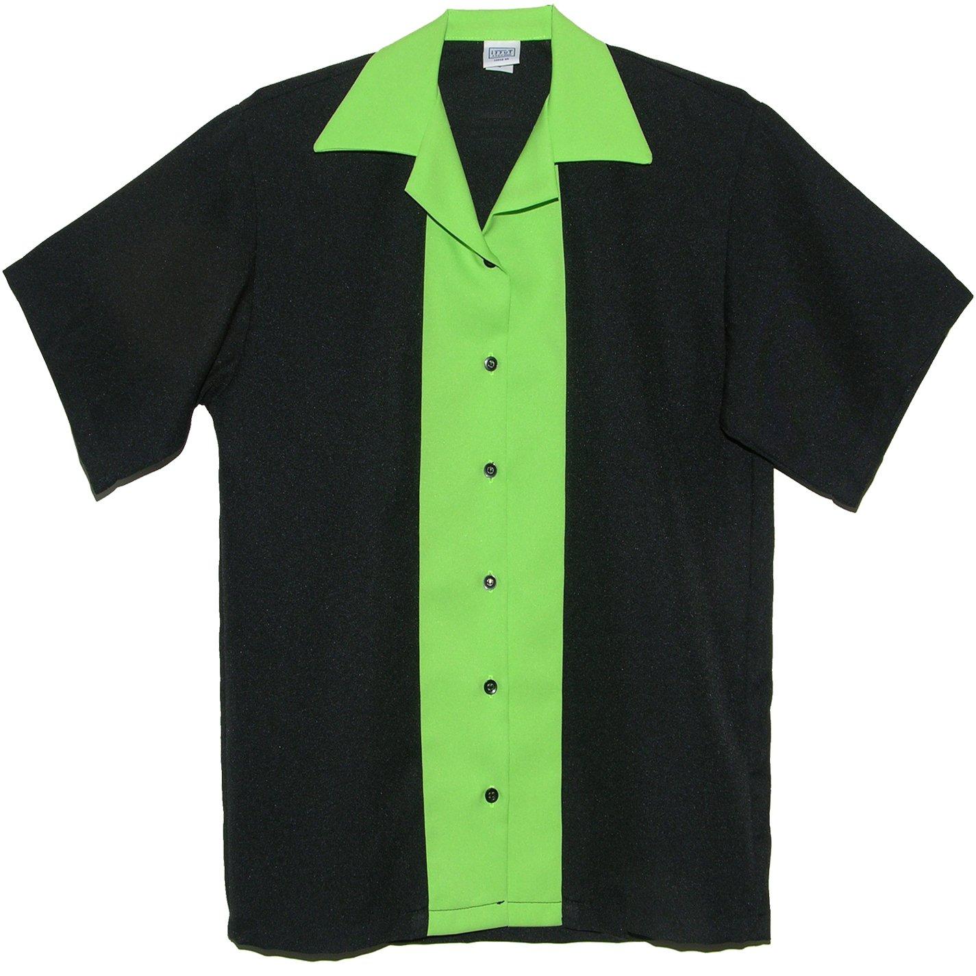 Tutti Ladies Retro Bowling Shirt 50's Style ~ Classic 57 Womens Bowling Shirts by (Small)