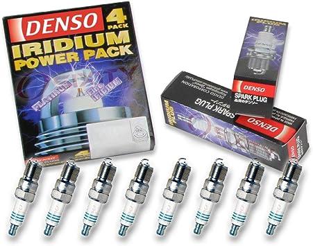 8 plugs total NGK V-Power Spark Plugs TR55 for 1999-2013 Silverado 4.3L V6
