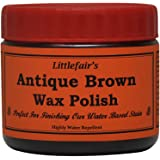 Littlefair's Wax Polish (200ml, Antique Brown)