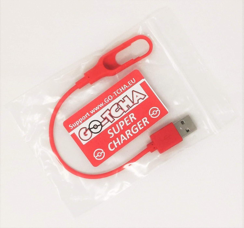 Go-Tcha Super-Charger, cable de carga USB mejorado y cerrado con montura para TODOS los modelos Go-Tcha de 2017, 2018 y 2019