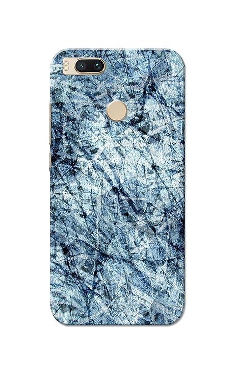 brand new edaa9 d5e17 Caseria Paper Scrap Blue Slim Fit Hard Case Cover for: Amazon.in ...