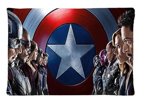 Custom Capitán América Guerra Civil justicia funda de ...