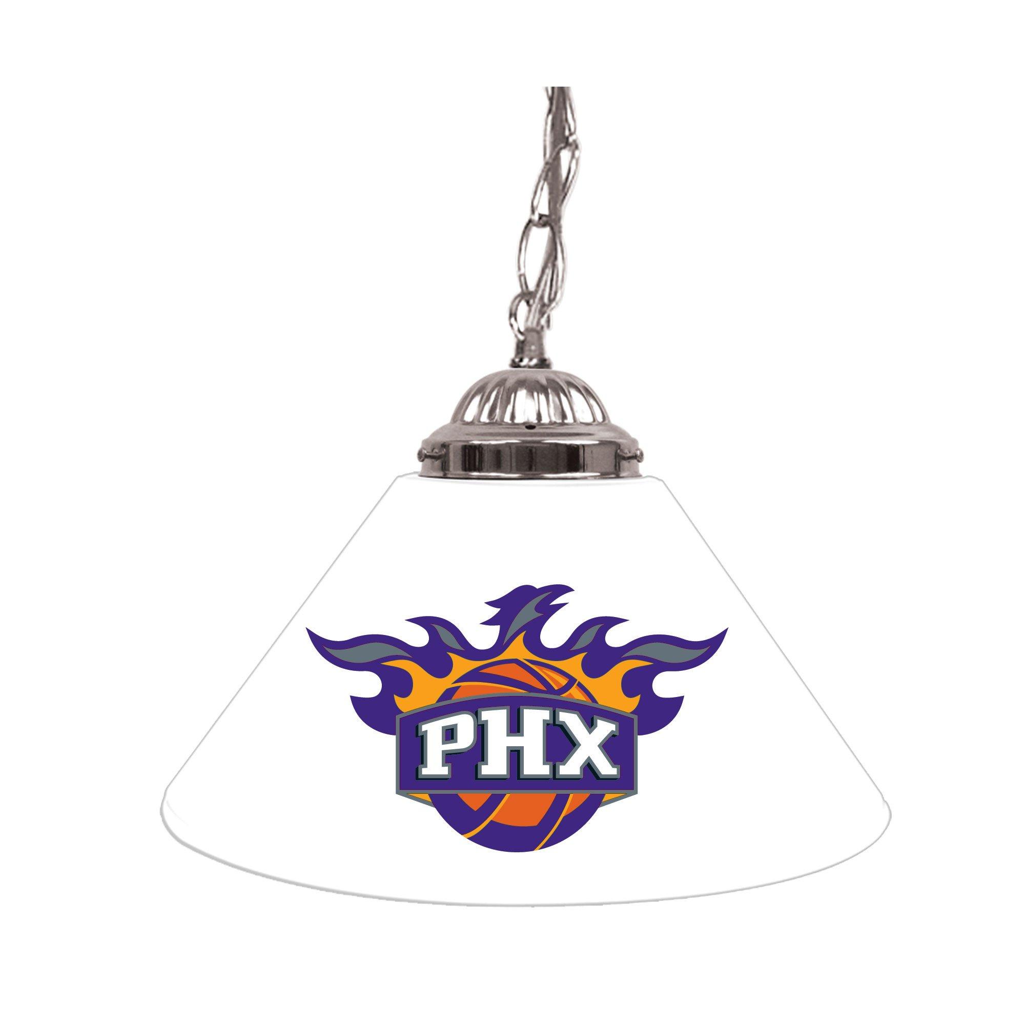NBA Phoenix Suns Single Shade Gameroom Lamp, 14''