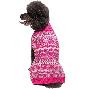 Amazon.com : Blueberry Pet 6 Patterns Vintage Tinsel Knit Fair ...