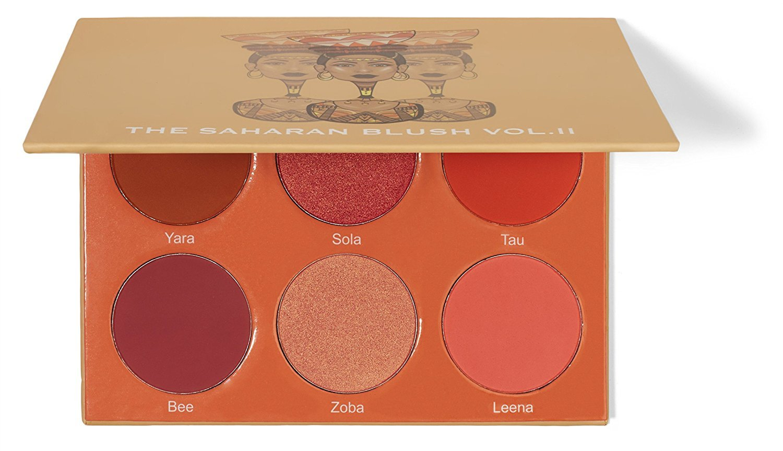The Saharan Blush Palette Vol II By Juvia's