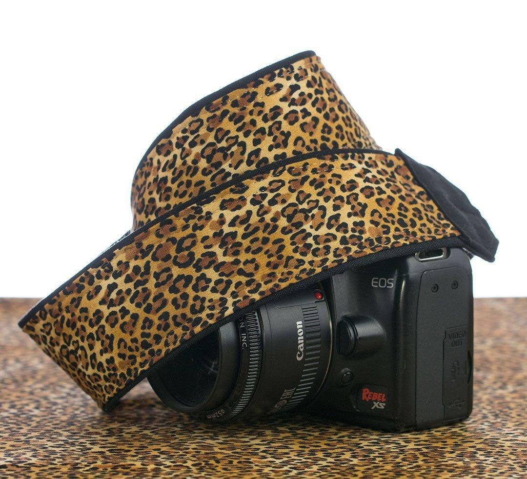Camera Strap, Leopard Print, dSLR, SLR