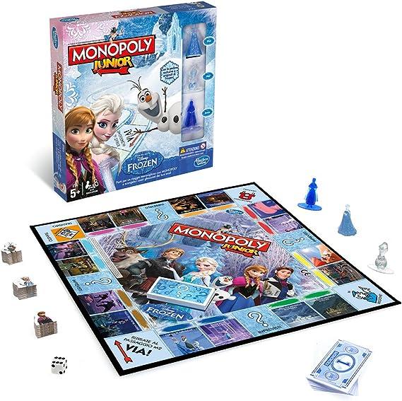 Hasbro Rocco Juguetes - Frozen Monopoly Junior: Amazon.es: Juguetes y juegos