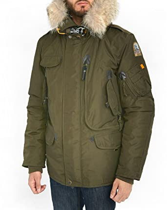 Parajumpers - Parkas - Men - Khaki Right Hand Parka with Removable Fur and Lining for