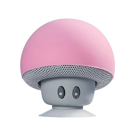 117 opinioni per Mini Altoparlante Bluetooth Stereo, YOKKAO Speaker Wireless Portatile Fungo