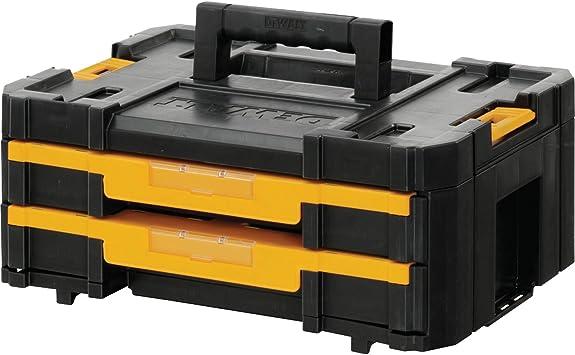 Advanced DeWalt TSTAK VI apilable Caja de herramientas 440 mm/43,18 cm [unidades 1] con Min 3 años Cleva garantía: Amazon.es: Bricolaje y herramientas