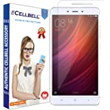 CELLBELL Tempered Glass Screen Protector With Installation Kit for Redmi Note 4/4x