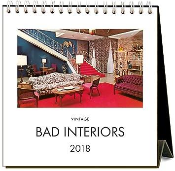 Found Image Press Bad Interiors 2018 Easel Desk Calendar