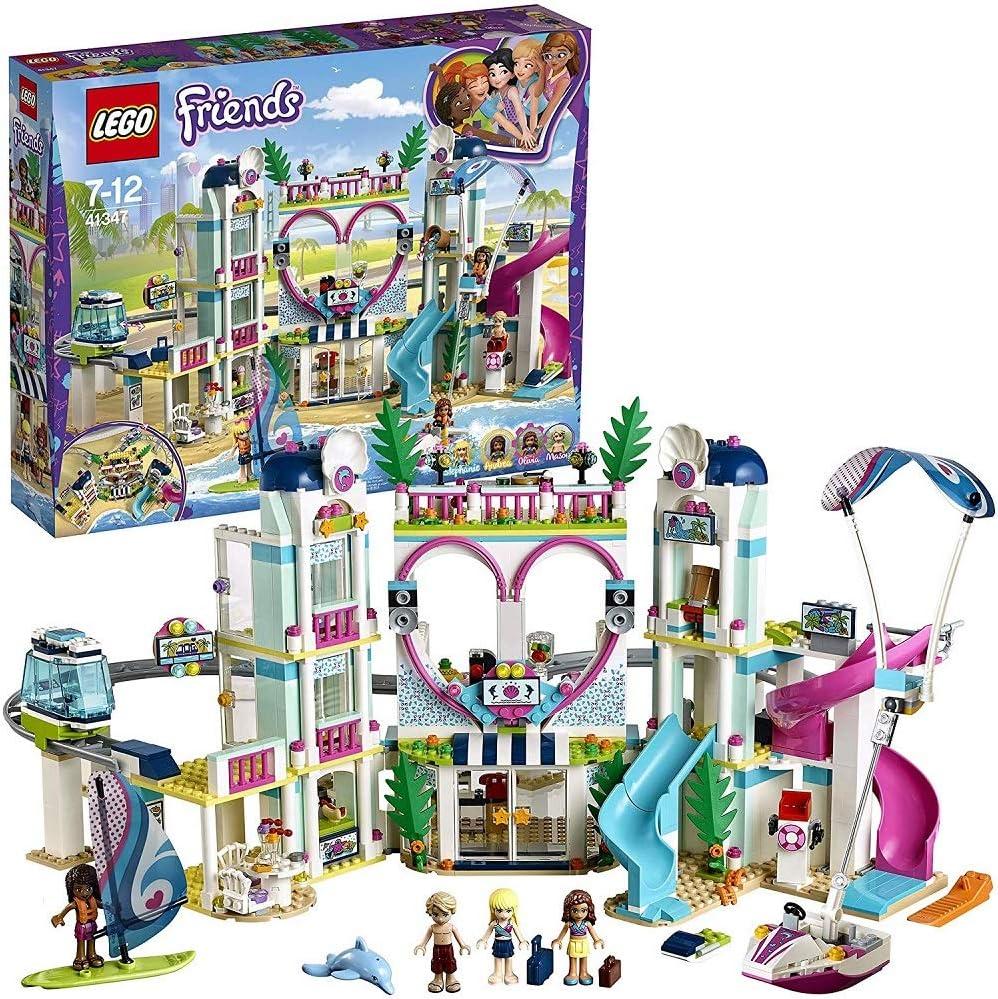LEGO Friends - Resort De Heartlake City, Juguete de Construcción Parque de Aventuras Acuaticas y Hotel (41347) , color/modelo surtido: Amazon.es: Juguetes y juegos