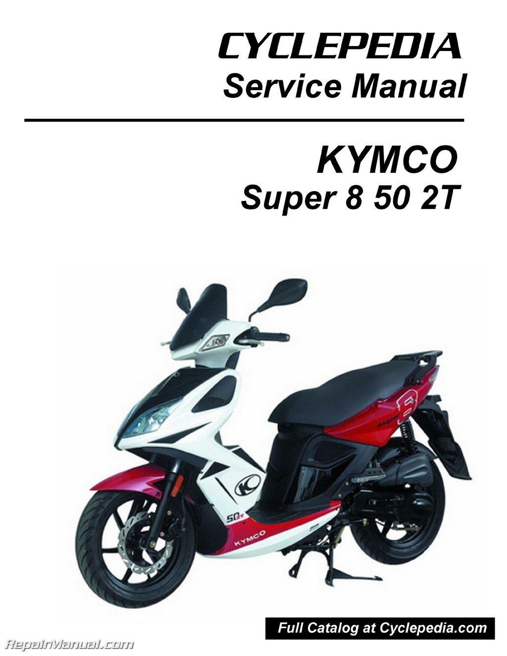 Kymco Super8 50 2t Service Manual