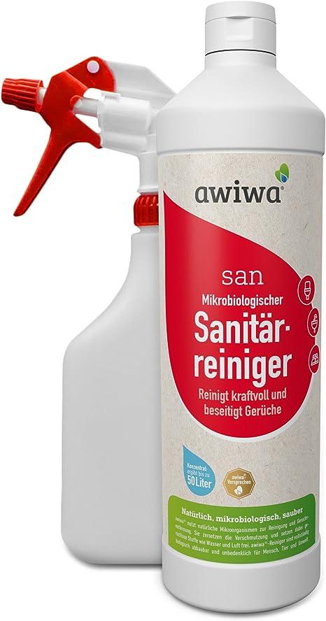 awiwa San 32 cm baño limpiador sanitaria limpiador WC limpiador ...