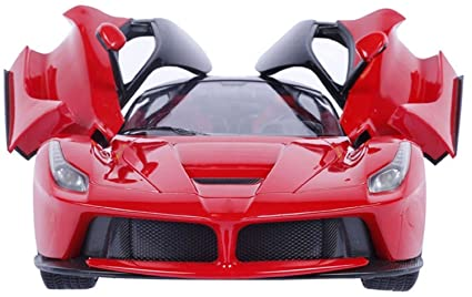 Fantasy India Ferrari Style RC Rechargeable Car With Opening Doors    Multicolor