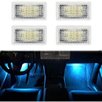 Carwiner Tesla Model 3/Y/S/X Ultra-bright Interior LED Lighting Bulbs Kit Accessories fit Trunk, Frunk, Door Puddle…