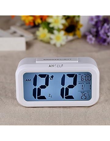 Amazon.es: Despertadores - Relojes y despertadores: Hogar y cocina: Despertadores electrónicos y mucho más