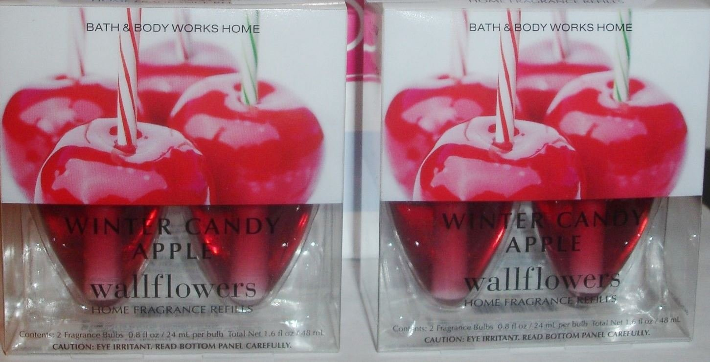 2 Bulb Pack Winter Candy Apple Wallflower (Set of 2 - 4 Total Bulbs)