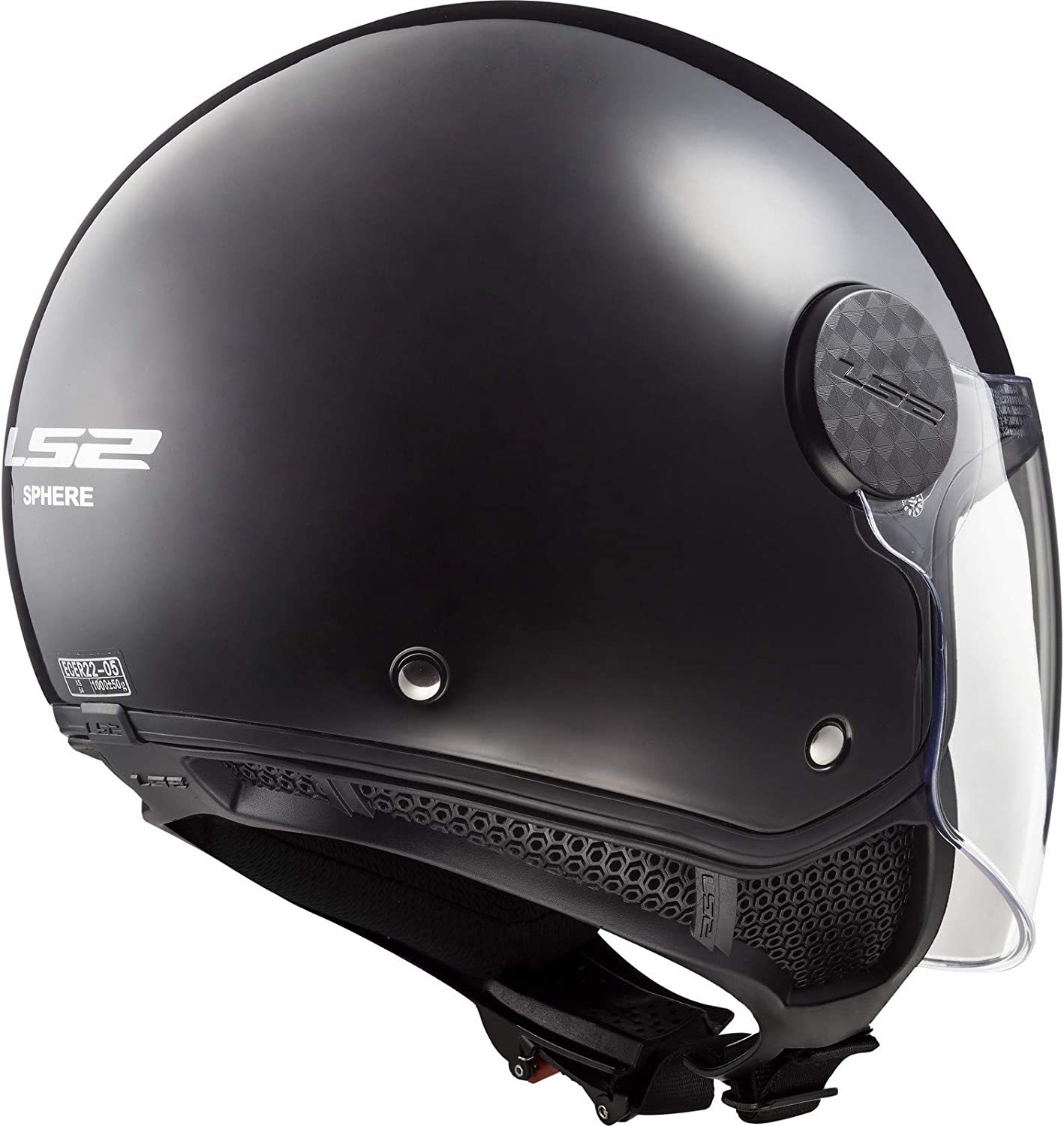 LS2 casque jet Sphere blanc Taille XS