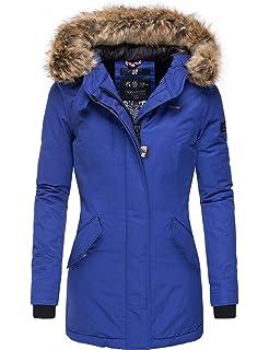 Damen Jacke Navahoo Schneeengelvegan Winter Mantel FK1lTJc