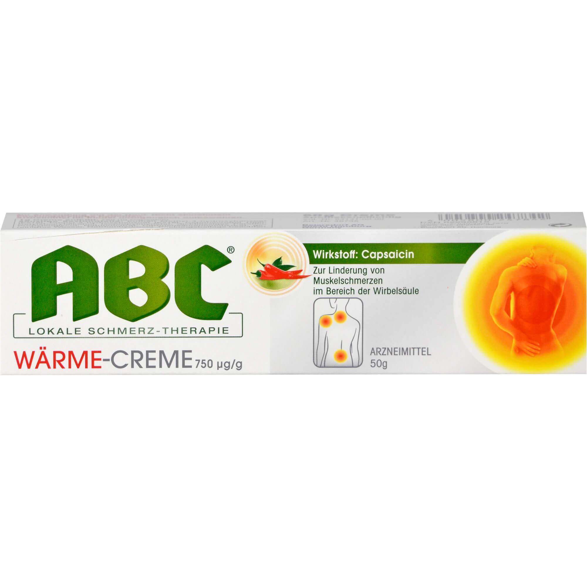HANSAPLAST med ABC Wärme Creme Capsicum 50g (1 x 50g)