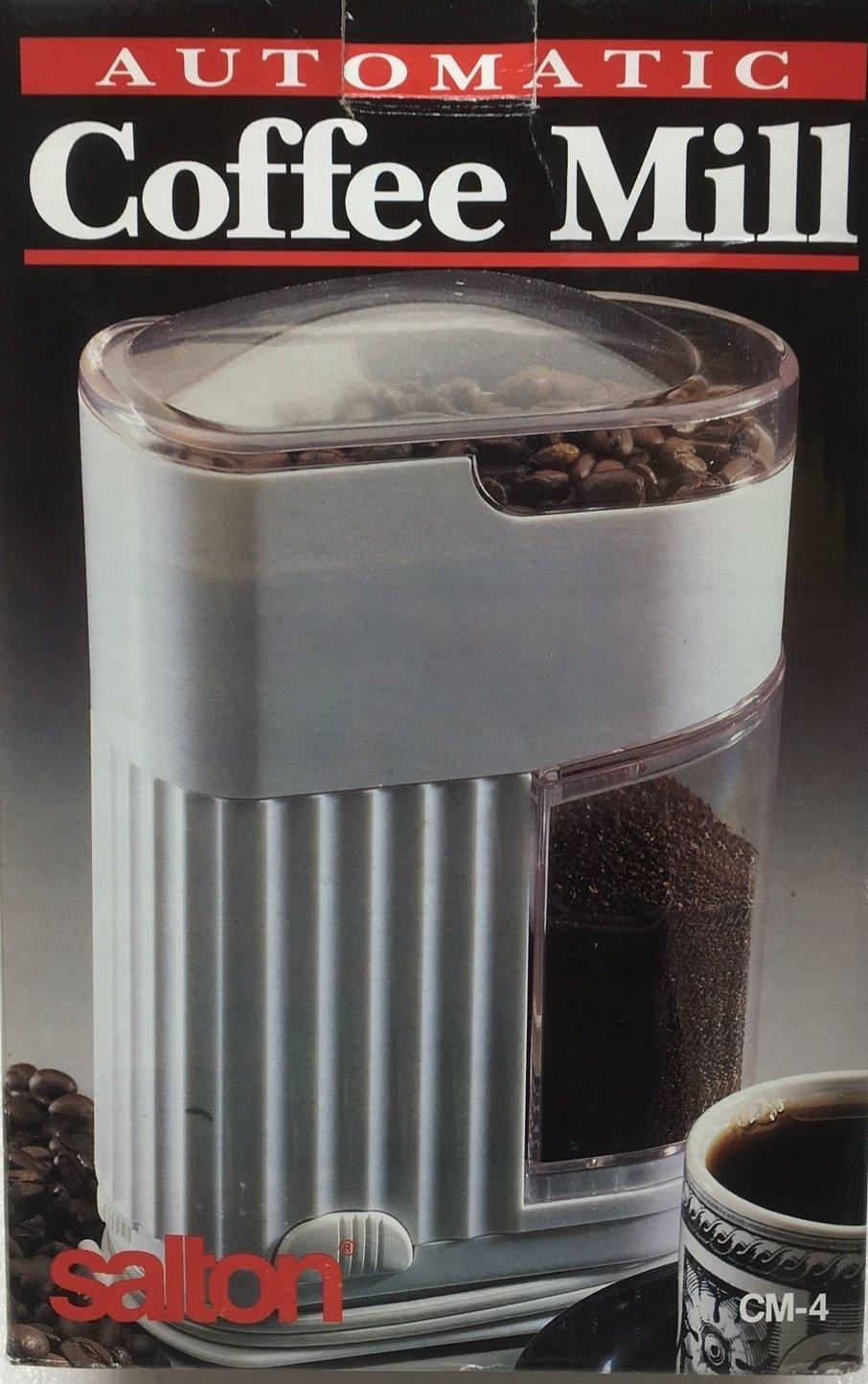 Salton Maxim Automatic Coffee Mill CM-4