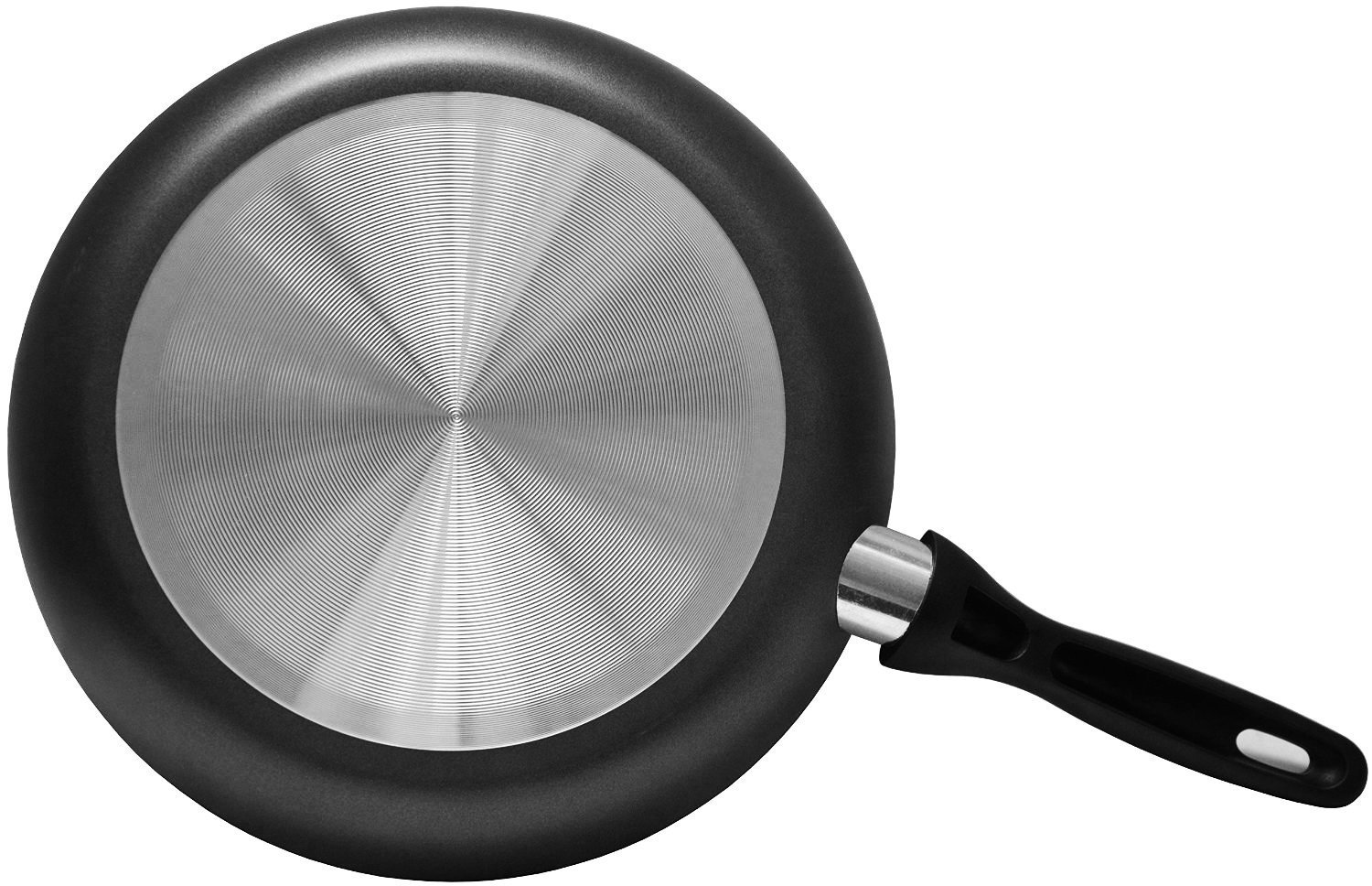 3-Piece 8 Inches, 9.5 Inches, 11 Inches Aluminum Nonstick Frying Pan Set - - Fry Pan//Frying pan Cookware Set by Utopia Kitchen UK0071 Dishwasher Safe