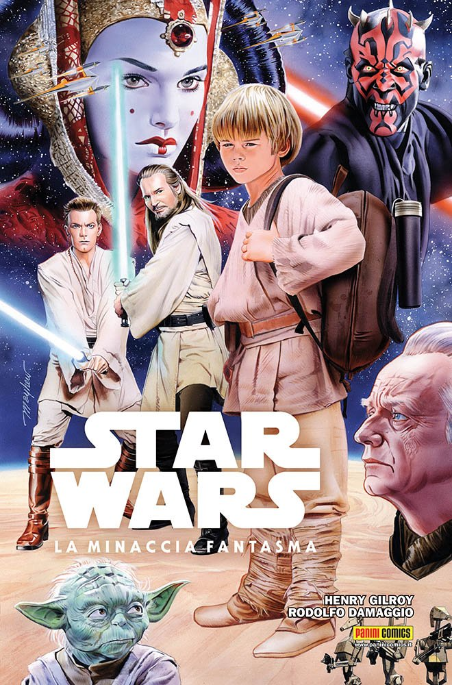 La minaccia fantasma. Star Wars Copertina rigida – 16 feb 2018 Henry Gilroy Rodolfo Damaggio Panini Comics 8891234265