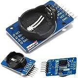 HiLetgo DS3231 AT24C32 時計モジュール リアル時間時計モジュール IICモジュール RTCモジュール Arduinoに対応(3個セット) [並行輸入品]