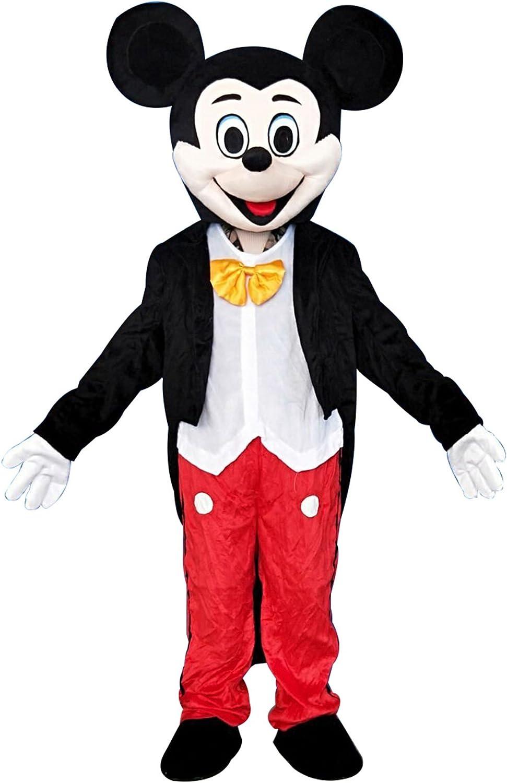 Happy Shop Mickey Mouse - Disfraz de Mascota para Adultos, Large ...