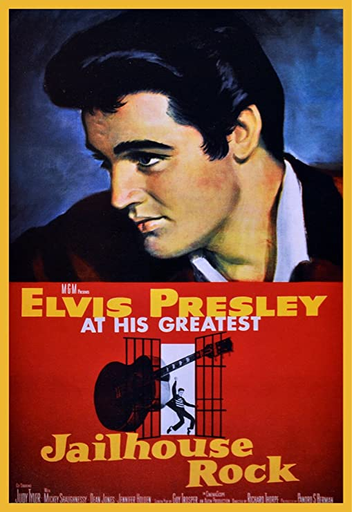 Elvis Presley Jailhouse Rock movie poster print 18