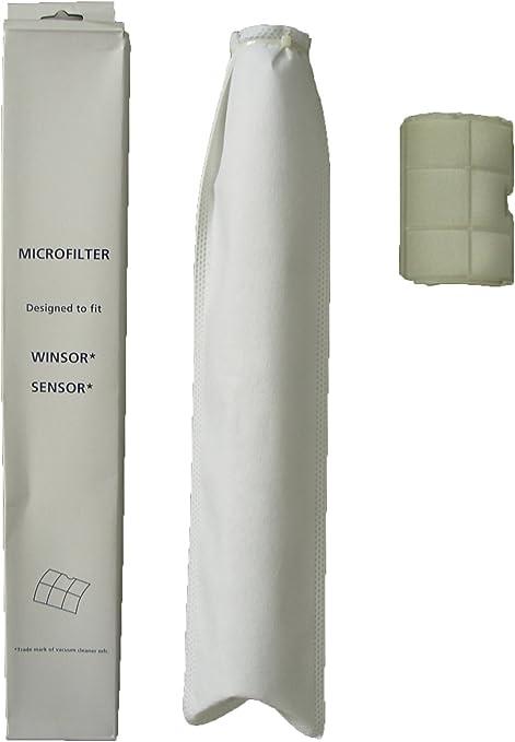 Micro Filtration 50 Sebo X /& G Vacuum Bags for Windsor Sensor Versamatic